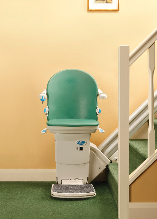 Straight Stairlifts - Romar Elevators